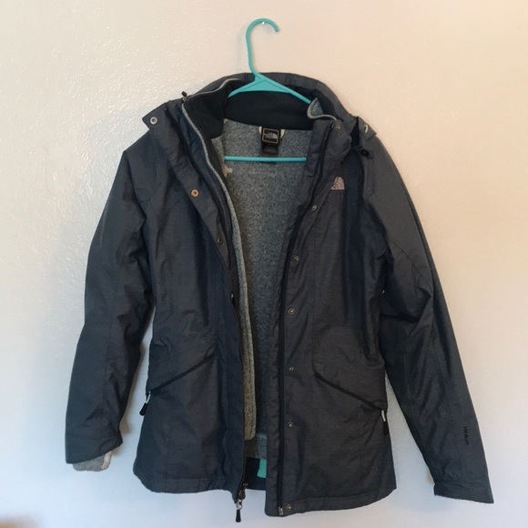 c52a62098 Women's The North Face three in one jacket